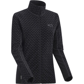 Kari Traa Lus Fleece Jas Dames, black